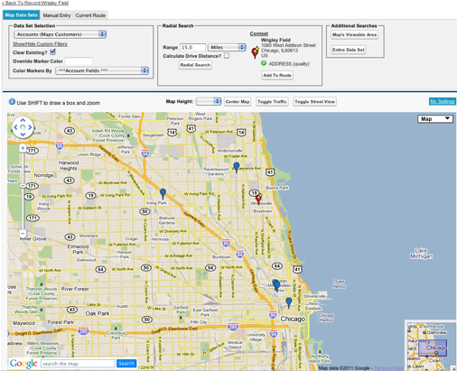 Proximity Searching Via Apex Perspectives On Salesforce Com